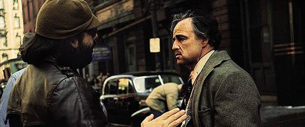 Francis Ford Coppola a Marlon Brando